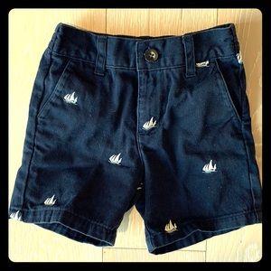 Janie and Jack nautical shorts
